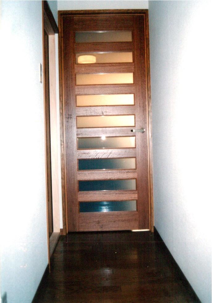 広縁x和室 腰板付ハンシマ直隅丸(じきすみまる)障子