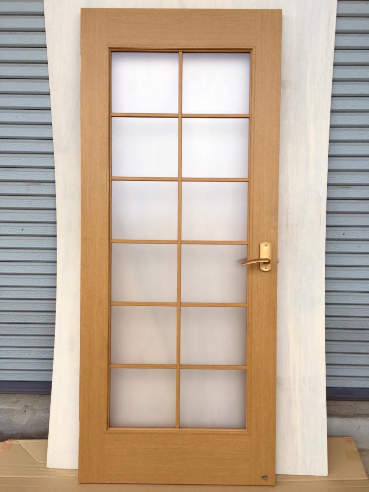 岡山市北区下中野分譲マンションガラス割れ替え/ガラス→ポリカーボネート