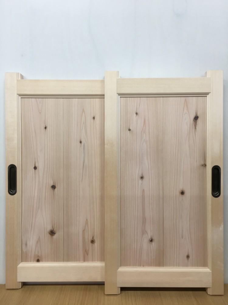 岡山市南区箕島新築工事_框組トイレ下引き違い戸