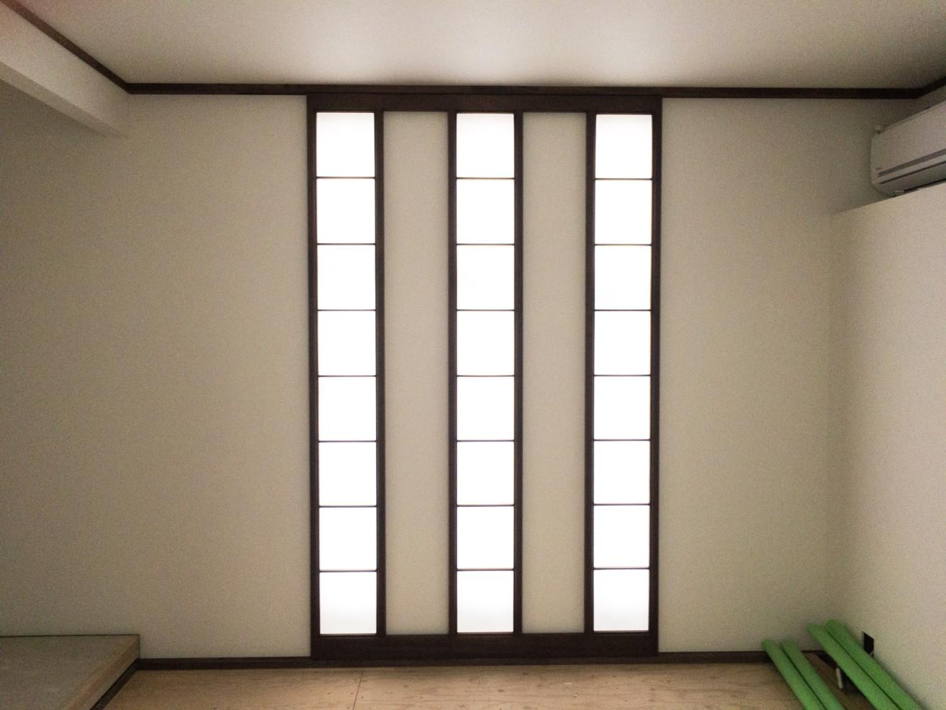 岡山市北区庭瀬新築工事/障子,押入襖