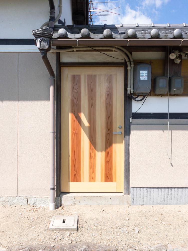 和気町和気郡改装工事/引戸,勝手口扉
