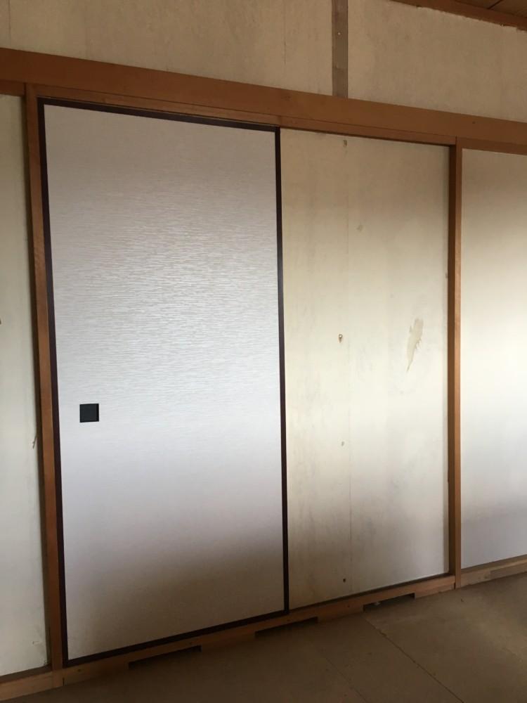 総社市久代改装工事/戸襖