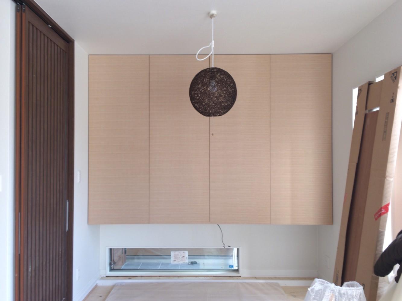 岡山市北区/新築工事(和室吊押入れ4枚開き戸)