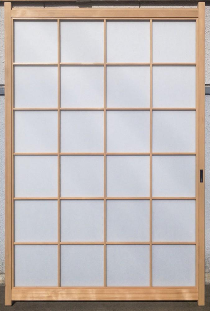 倉敷市/新築工事(障子新設・網戸、襖、戸襖貼り替え)