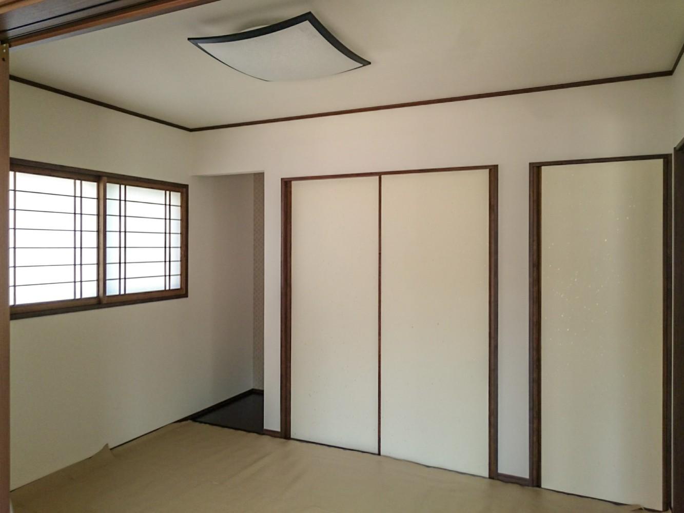 倉敷市住宅新築工事和室建具工事