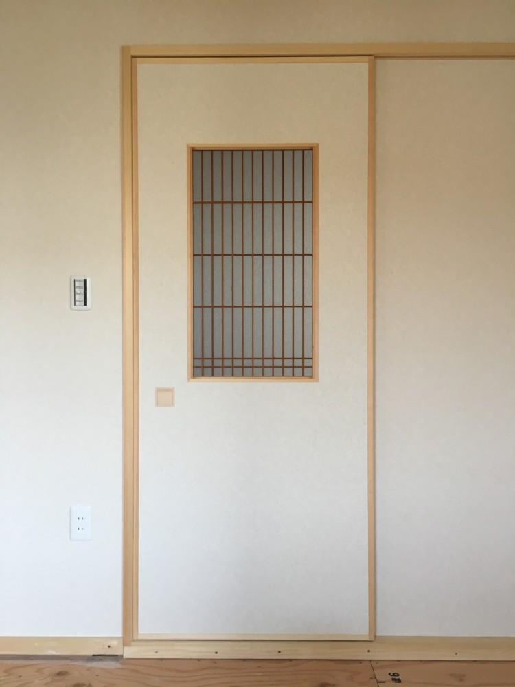 岡山市東区住宅新築工事和室建具新設工事