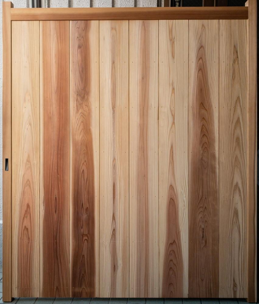 塀出入口/扉作り替え