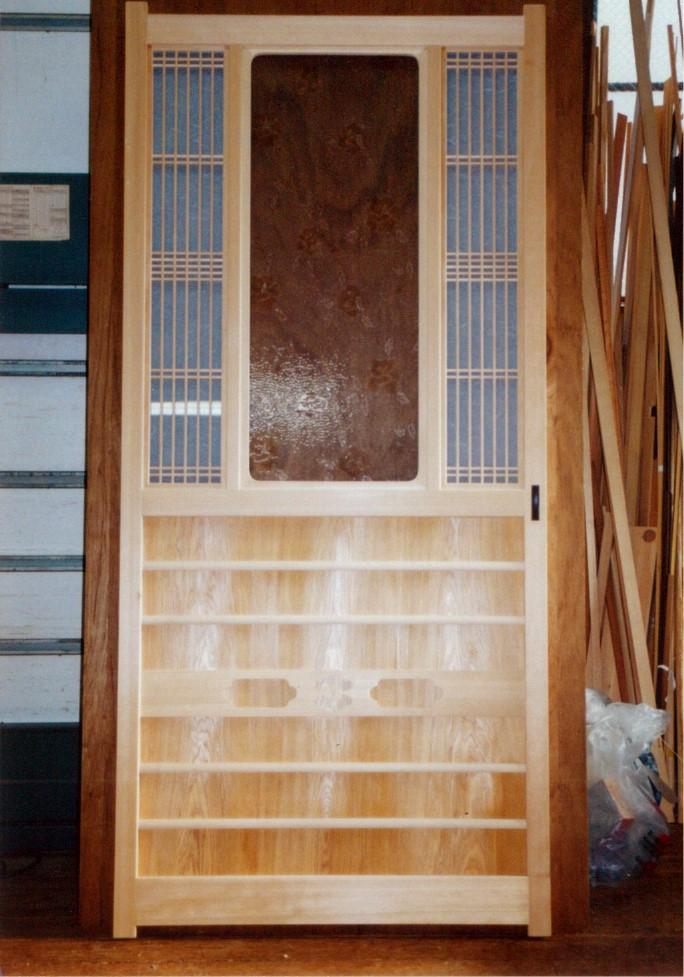 玄関ホールx和室