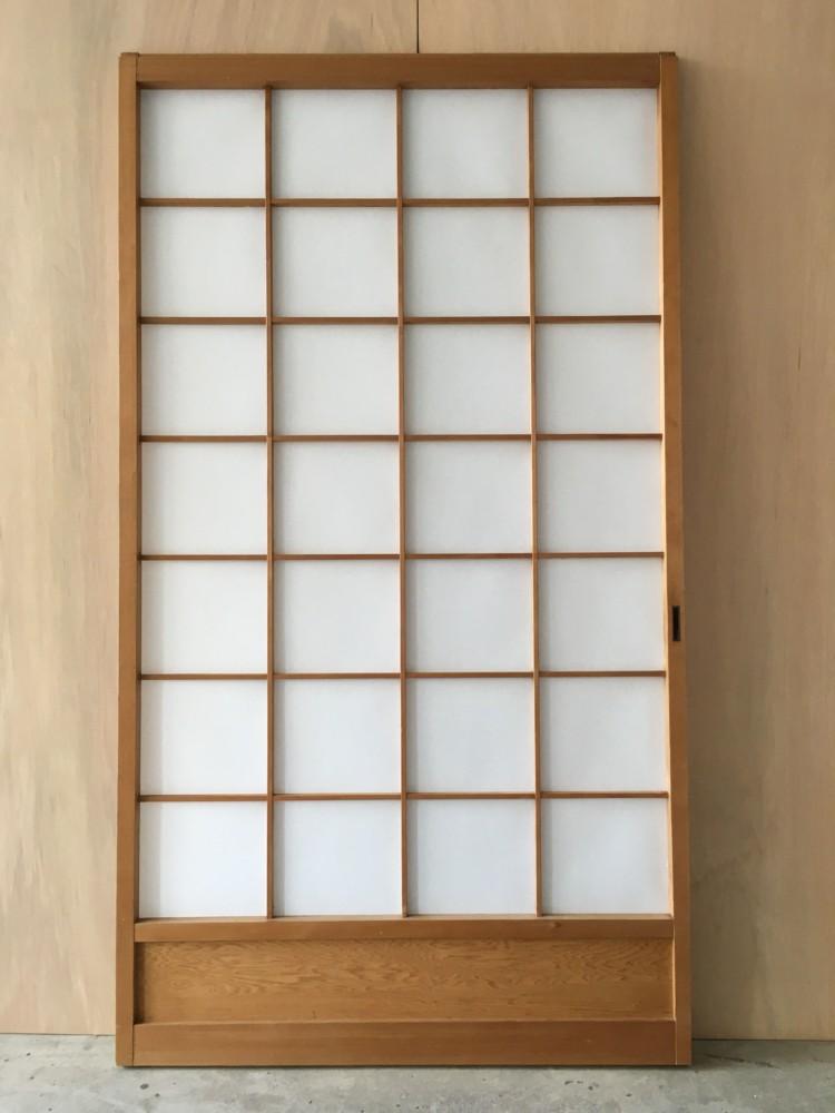赤磐市リフォーム_障子貼り替え(ワーロンシート0.2mm)